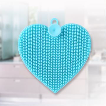 Heart-Shaped Silicone Cleansing Brush