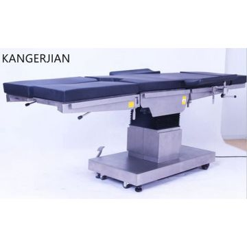 High-end electric surgical table with reinforced structure