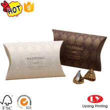 Sweet Custom Wedding pillow gift packaging box