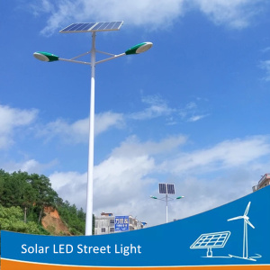 DELIGHT 6M Double Arm Solar outdoor street lamp