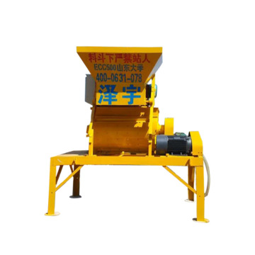 Self loading mini JS500 concrete mixer price
