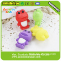 mini frog 3D erasers hot sell eraser