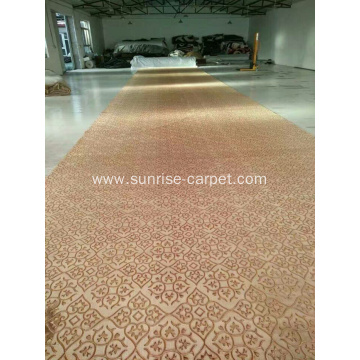 Wall to Wall Size Embossing Pattern Carpet