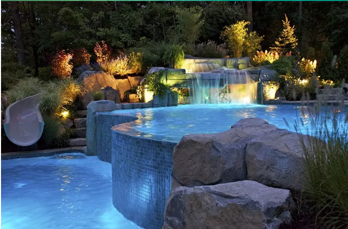 Power for pool and spa lights