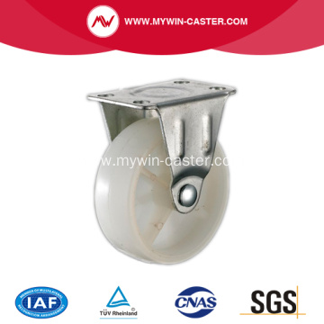 1'' Light Duty Rigid White PP Industrial Caster
