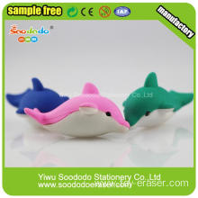 Adorable Puzzle animal 3D pencil eraser