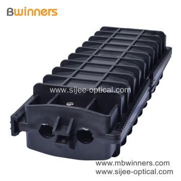 Outdoor Waterproof 96 Cores Inline Fiber Optic Cable Joint Enclosures