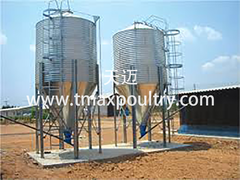 Poultry Farming System Feeding Trolley