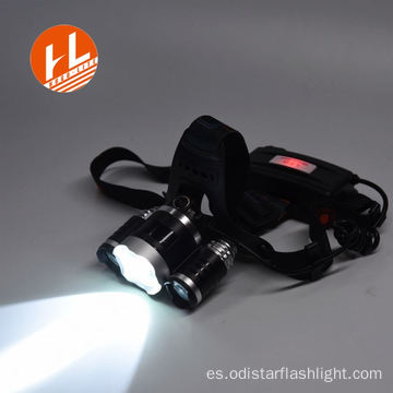 3w emergencia led 18650 faro recargable