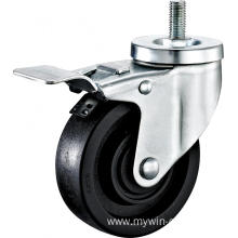 5'' Thtead Stem High Temperature Caster With Brake