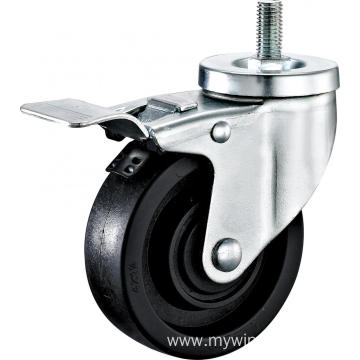 3'' Thtead Stem High Temperature Caster With Brake
