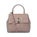 Pure Color Elegant Girls Trend Evening Tote Handbags