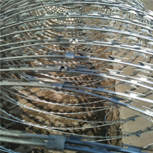 High Security Galvanized Blade Razor Wire
