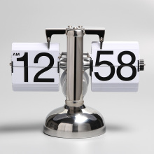 Europe style for Flip Desk Clock Flip Clock Font for Home Office export to Palestine Supplier