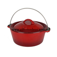 Casserole Enameled Cast Iron Pot for cooking
