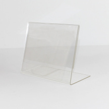 Horizontal Clear Desktop Document Menu Acrylic Holder