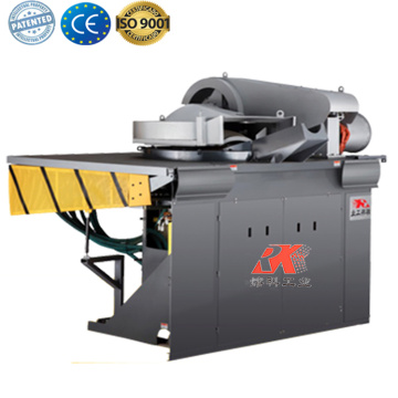 Industrial aluminum induction melting machine for metal