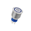 IP67 Waterproof Power Logo Push Button Switch