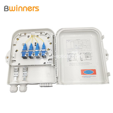 8 Port Optical Fibre Terminal Box Sc/Lc Ip65 Wall Mount
