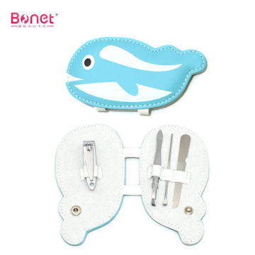 Cute Animal Dolphin Shape Manicure Set