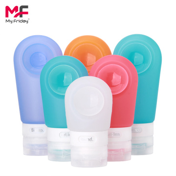 Reusable Portable Silicone Travel Bottle Travel Makeup Set
