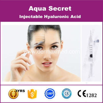 Cross-Linked Hyaluronate Acid Injections Face