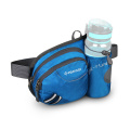 Factory Direct Sale OEM Custom Logo Waterproof Durable Buckle  Waist Bag For Sport With Bottle Holder