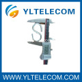 S Type Hook Aluminum Fiber Optic Accessories for SS Telecom Drop Wire Clamps