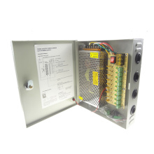 High Quality for CCTV Power Supply Box 12V 15A 180W 9Channel CCTV Power Supply Box export to Seychelles Manufacturer