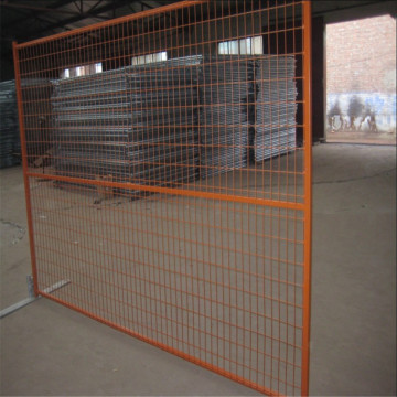 Canada Standard Galvanized Temporary Wire Mesh Fence