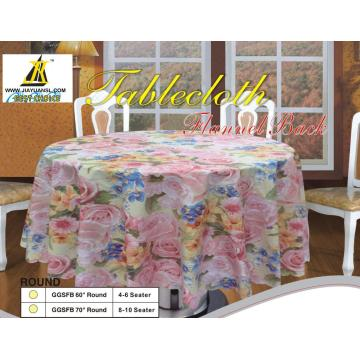 Scallop Edge Round Tablecloth