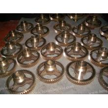 ODM for CNC Machining Parts Customize High Precision Brass Gear Wheel supply to Tajikistan Factories