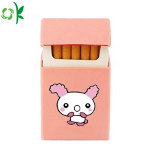 Cute Animal Printing Silicone Cigarette Case for Travel