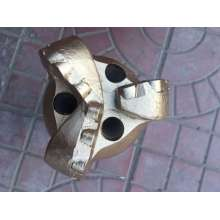 Reliable for Steel Body PDC Drill Bit 76mm 3blades gold quality PDC bit supply to Sri Lanka Factory