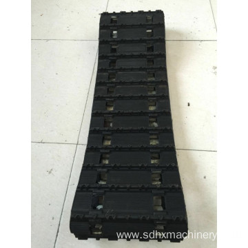 Engineering Constructional Rubber mini excavator tracks
