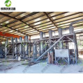 Automatic Waste Tyre Processing Plant