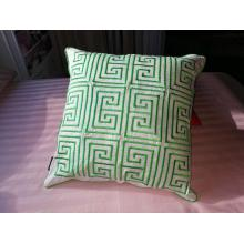 Plain Cotton Embroidery Cushion Cover