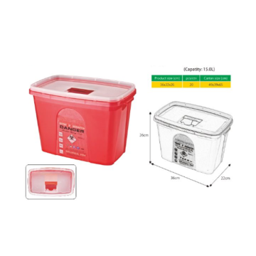 I-SHARP CONTAINER 15L