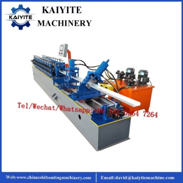 C U Light Gauge Steel Channel Frame Machine