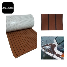 Melors Faux Teak Non Skid Mat Traction Sheet