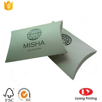 Cheap clothes packaging box paper pillow box