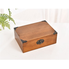 Best quality and factory for China Wooden Box,Large Wooden Box,Wooden Storage Box,Wooden Gift Box Manufacturer and Supplier Antique Finish Wooden Box With Lock export to Heard and Mc Donald Islands Factory