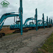 Professional for Helical Pile Installation Equipment Pile Drilling Equipment Good Price supply to Romania Manufacturers
