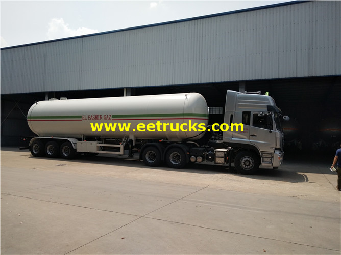23ton Lpg Gas Trailer Tankers