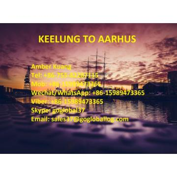 Customized for Sea Freight To Mediterranean Taiwan Keelung Sea Freight to Denmark Aarhus supply to Japan Manufacturer