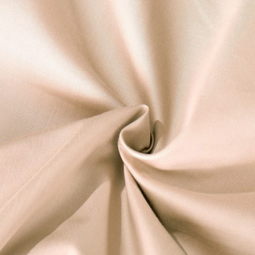 Organic Cotton Sateen Bleached Dyed Fabric