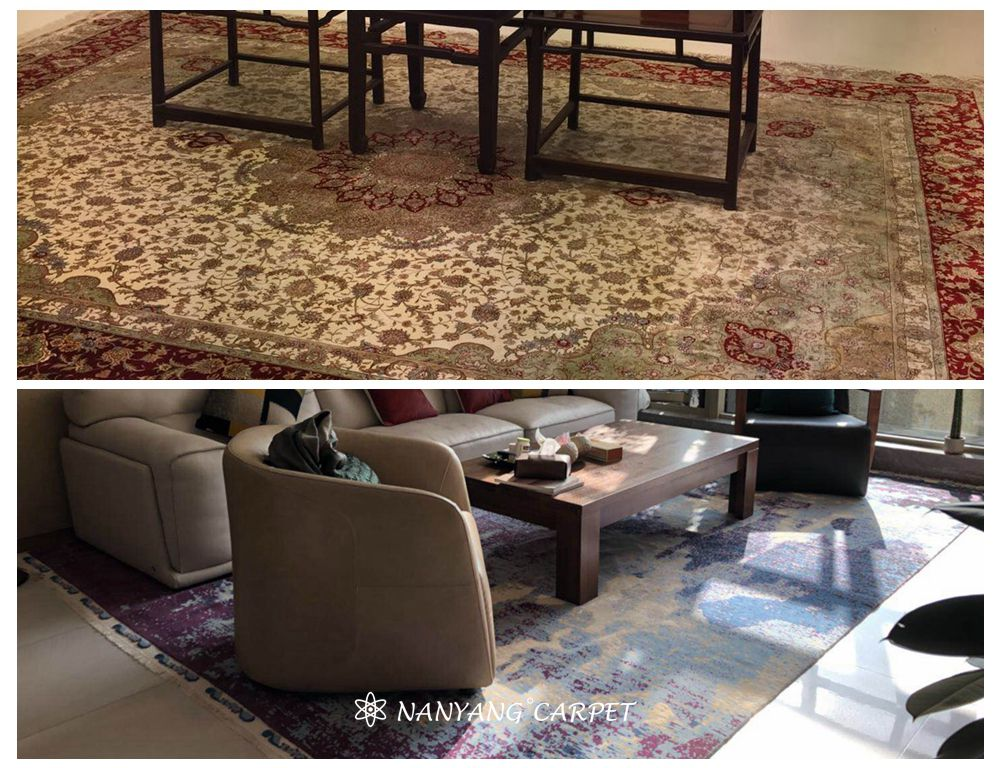 handwoven carpet
