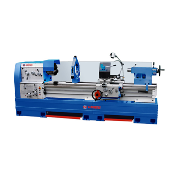 Engine lathe Range of spindle speeds