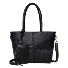 Female classical design tote shoulder bags