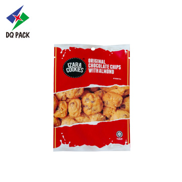 Punching Packaging Bags For Cookies Stand Up Packaging